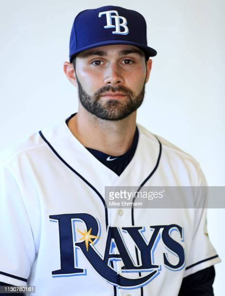Anthony Bemboom of the Tampa Bay Rays poses for a portrait during photo day on February 17 2019 in Port Charlotte Florida