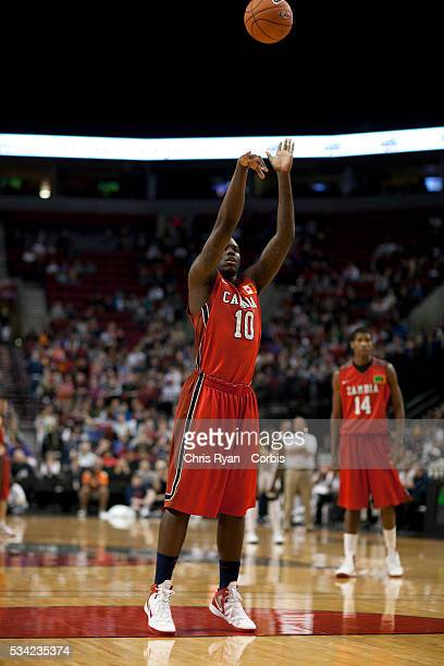 Anthony Bennett takes a penalty shot during the 2012 Nike Hoop Summit at Rose Garden arena in Portland Oregon Saturday April 7th 2012 The USA Select...
