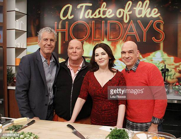 THE CHEW Anthony Bourdain and Nigella Lawson appear on 'The Chew' today Tuesday December 2 2014 'The Chew' airs MONDAY FRIDAY on the ABC Television...