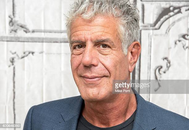 Anthony Bourdain visits the Build Series to discuss Raw Craft at AOL HQ on November 2 2016 in New York City