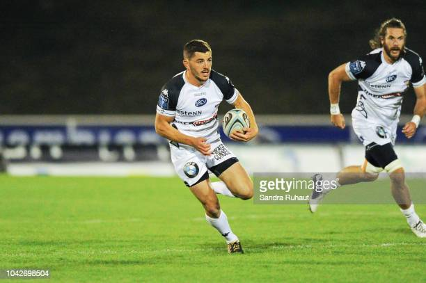 Anthony Bouthier of Vannes during the Pro D2 match between Massy and Vannes on September 28 2018 in Massy France