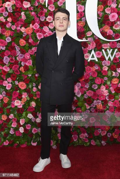 Anthony Boyle attends the 72nd Annual Tony Awards at Radio City Music Hall on June 10 2018 in New York City