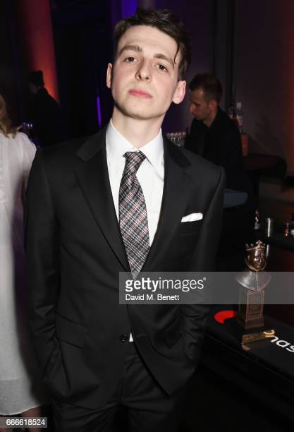 Anthony Boyle attends The Olivier Awards 2017 after party at Rosewood London on April 9 2017 in London England