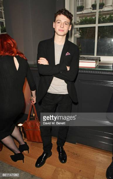 Anthony Boyle attends the Olivier Awards 2017 nominees celebration at Rosewood London on March 10 2017 in London England