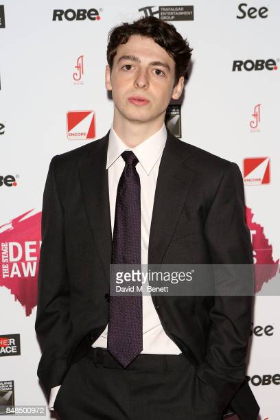 Anthony Boyle attends the Stage Debut Awards at 8 Northumberland Avenue on September 17 2017 in London England