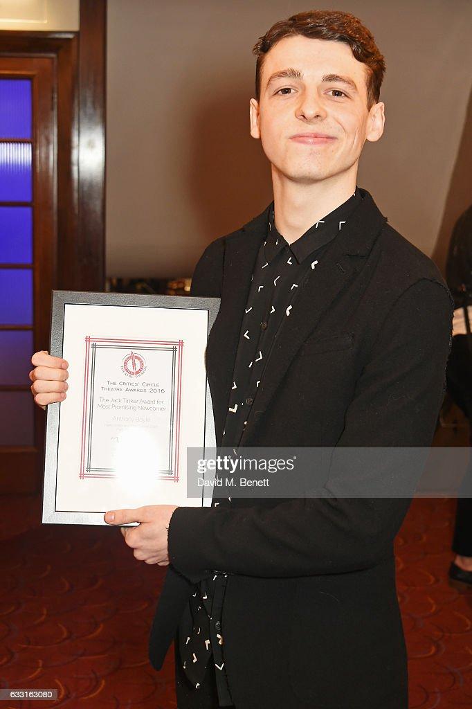 The Critics' Circle Theatre Awards : News Photo