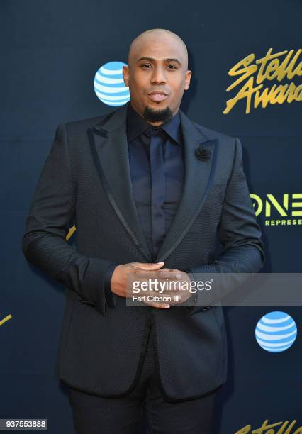 Anthony Brown attends the 33rd annual Stellar Gospel Music Awards at the Orleans Arena on March 24 2018 in Las Vegas Nevada