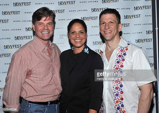 Anthony Brown CNN Anchor Soledad O'Brien and Gary Spino attend a screening and QA for Gary And Tony Have A Baby a new documentary in the CNN series...