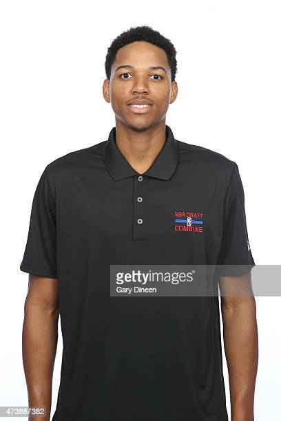 Anthony Brown poses for a headshot during the 2015 NBA Draft Combine on May 16 2015 at Northwestern Memorial Hospital in Chicago Illinois NOTE TO...