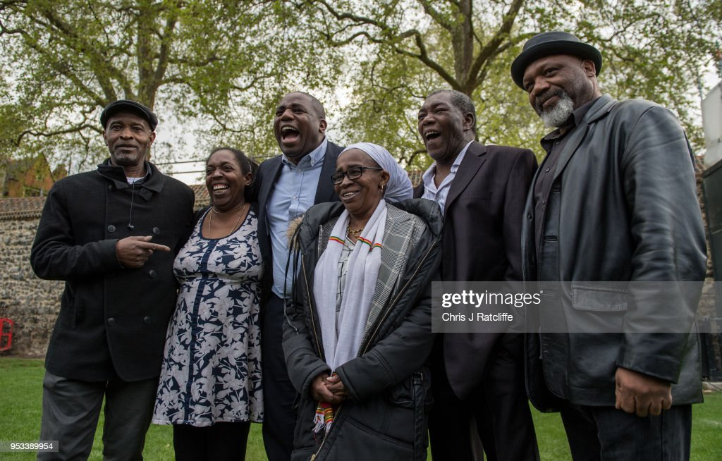 MPs Meet Representatives Of The Windrush Generation : News Photo
