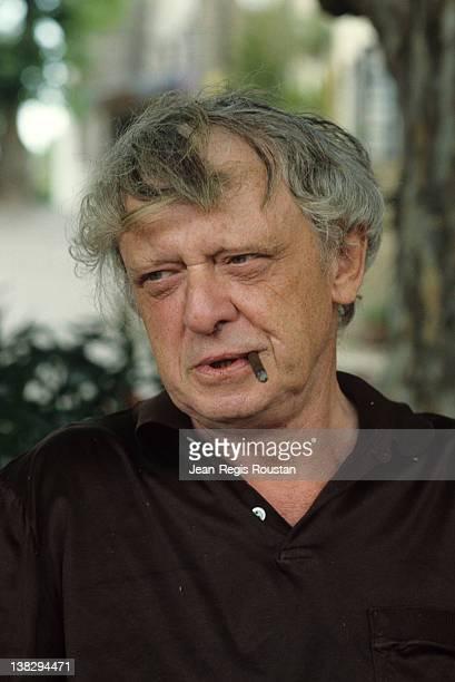 Anthony Burgess British writer and linguist 1981
