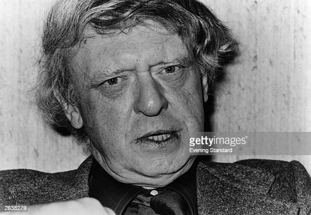 Anthony Burgess English author critic and composer and writer of the controversial 'A Clockwork Orange'