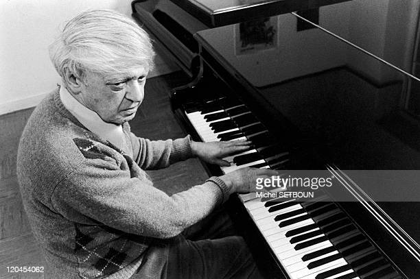 Anthony Burgess in France in January 1987 The British writer and composer