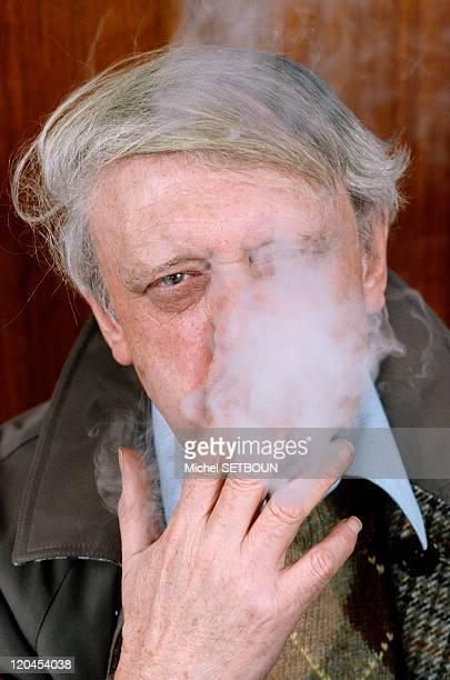 Anthony Burgess in January 1987 Author of A Clockwork Orange