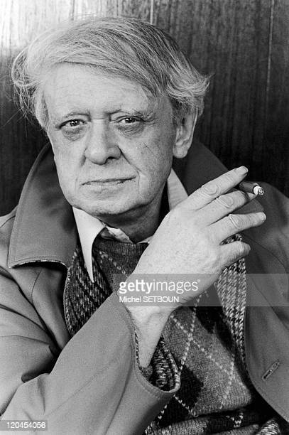 Anthony Burgess in January 1987 The British writer and composer