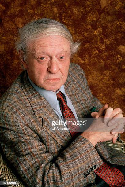 Anthony Burgess poses while in ParisFrance during a promotional visit during March of 1989