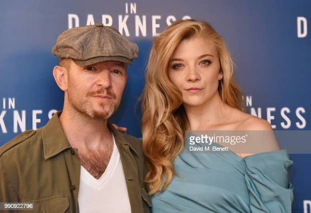 Anthony Byrne and Natalie Dormer attend a special screening of In Darkness at Picturehouse Central on July 3 2018 in London England