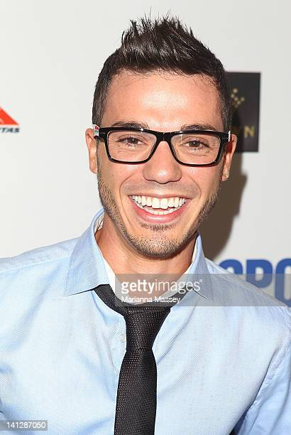 Anthony Calea arrives at the opening party of the 2012 Australian Grand Prix at Club 23 on March 14 2012 in Melbourne Australia