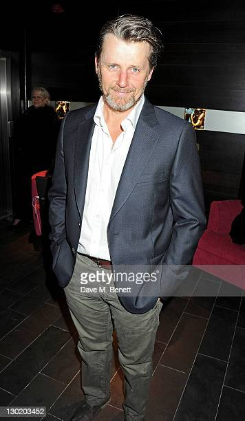 Anthony Calf attends an after party celebrating Press Night of 'Death And The Maiden' at Mint Leaf Restaurant Bar on October 24 2011 in London England