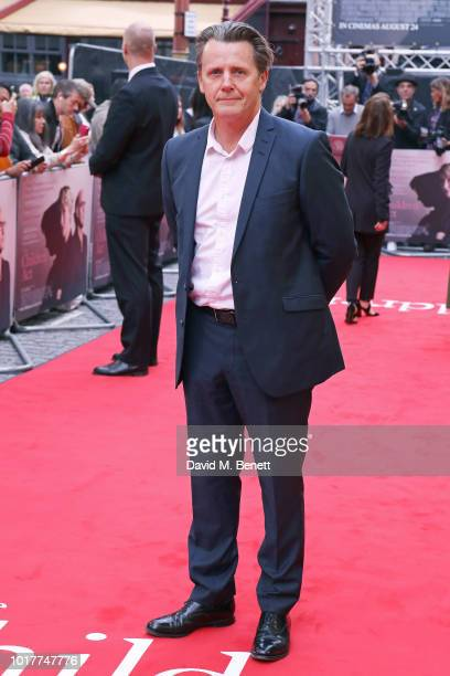 Anthony Calf attends the UK Premiere of 'The Children Act' at The Curzon Mayfair on August 16 2018 in London England