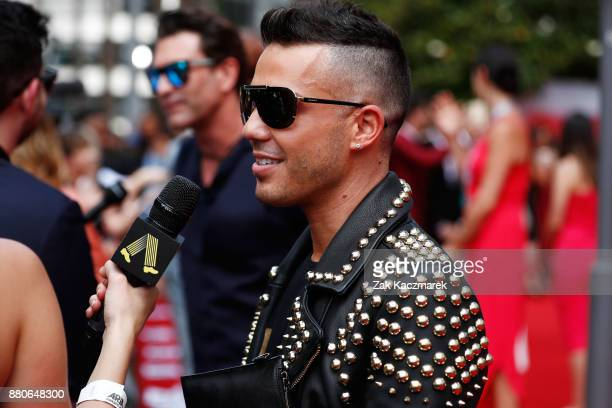 Anthony Callea arrives for the 31st Annual ARIA Awards 2017 at The Star on November 28 2017 in Sydney Australia
