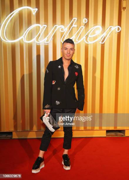 Anthony Callea attends the Cartier Precious Garage Party on November 29 2018 in Sydney Australia
