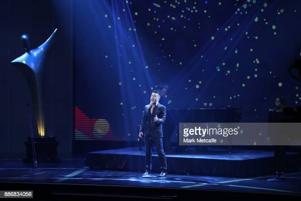 Anthony Callea during the 7th AACTA Awards Presented by Foxtel | Ceremony at The Star on December 6 2017 in Sydney Australia