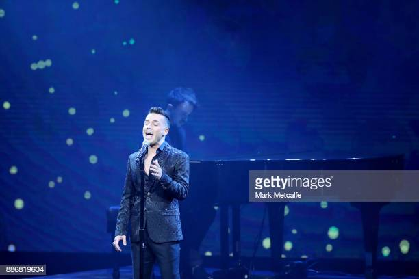 Anthony Callea performs during the 7th AACTA Awards Presented by Foxtel | Ceremony at The Star on December 6 2017 in Sydney Australia