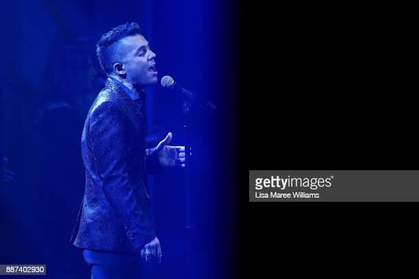 Anthony Callea performs during the 7th AACTA Awards Presented by Foxtel at The Star on December 6 2017 in Sydney Australia