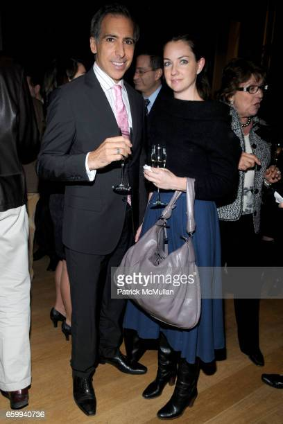 Anthony Candella and Marnie Quinn attend ITALIAN TRADE COMMISSION Kicks Off MADE IN ITALY On Madison at The Morgan Library Museum on December 10 2009...