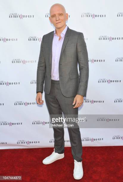 Anthony Carrigan arrives at The 4th Annual A Cause For Entertainment Benefit on October 7 2018 in Los Angeles California
