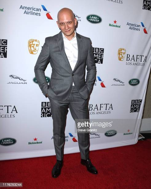 Anthony Carrigan arrives at the BAFTA Los Angeles BBC America TV Tea Party 2019 at The Beverly Hilton Hotel on September 21 2019 in Beverly Hills...