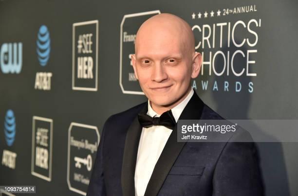 Anthony Carrigan at The 24th Annual Critics' Choice Awards at Barker Hangar on January 13 2019 in Santa Monica California