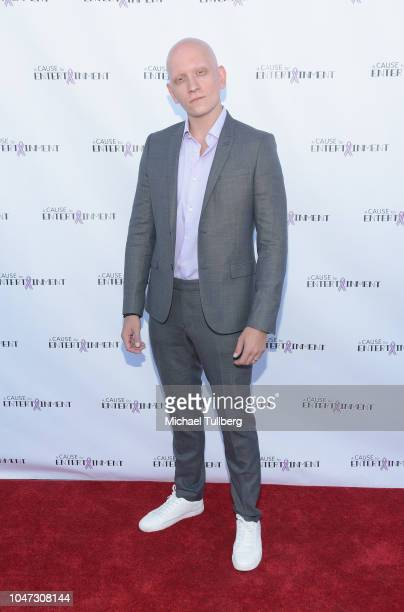 Anthony Carrigan attends A Cause For Entertainment's 4th annual fundraising event to fight breast cancer at Candela on October 7 2018 in Los Angeles...