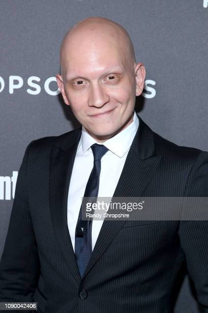 Anthony Carrigan attends Entertainment Weekly Celebrates Screen Actors Guild Award Nominees sponsored by L'Oreal Paris Cadillac And PopSockets at...