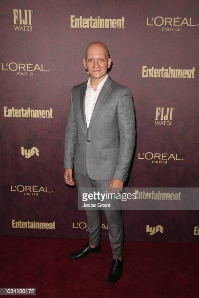 Anthony Carrigan attends FIJI Water at Entertainment Weekly PreEmmy Party on September 15 2018 in Los Angeles California