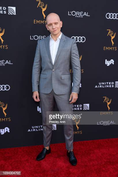 Anthony Carrigan attends Television Academy Honors Emmy Nominated Performers Arrivals at Wallis Annenberg Center for the Performing Arts on September...