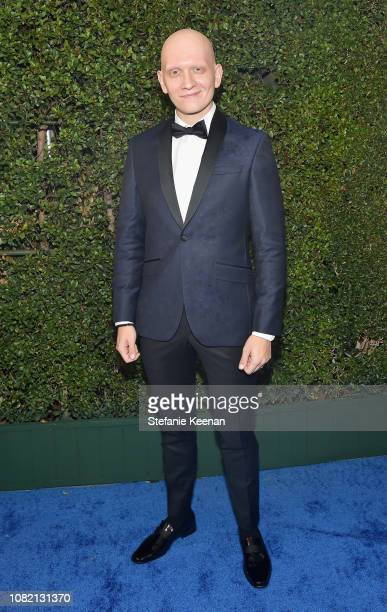 Anthony Carrigan attends the 24th annual Critics' Choice Awards at Barker Hangar on January 13 2019 in Santa Monica California
