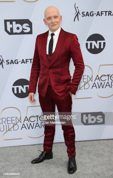 Anthony Carrigan attends the 25th Annual Screen Actors Guild Awards at The Shrine Auditorium on January 27 2019 in Los Angeles California