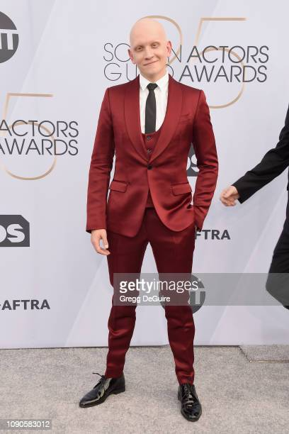 Anthony Carrigan attends the 25th Annual Screen ActorsGuild Awards at The Shrine Auditorium on January 27 2019 in Los Angeles California 480645