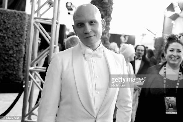 Anthony Carrigan attends the 26th Annual Screen Actors Guild Awards at The Shrine Auditorium on January 19 2020 in Los Angeles California