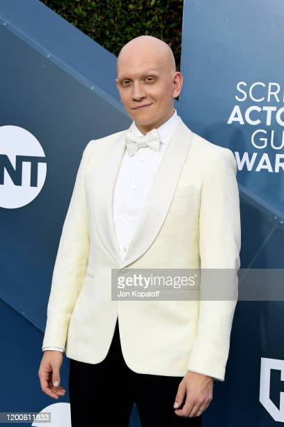 Anthony Carrigan attends the 26th Annual Screen ActorsGuild Awards at The Shrine Auditorium on January 19 2020 in Los Angeles California