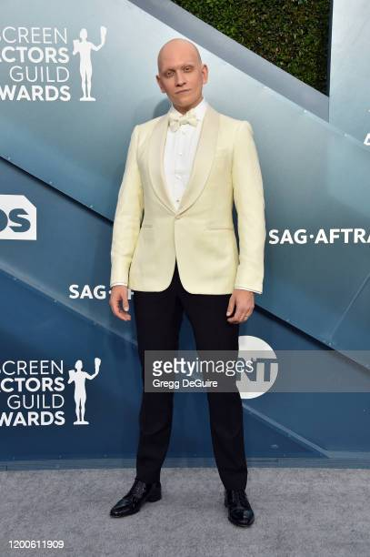 Anthony Carrigan attends the 26th Annual Screen ActorsGuild Awards at The Shrine Auditorium on January 19 2020 in Los Angeles California 721430