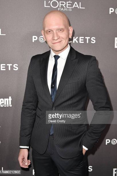 Anthony Carrigan attends the Entertainment Weekly PreSAG Party Arrivals at Chateau Marmont on January 26 2019 in Los Angeles California