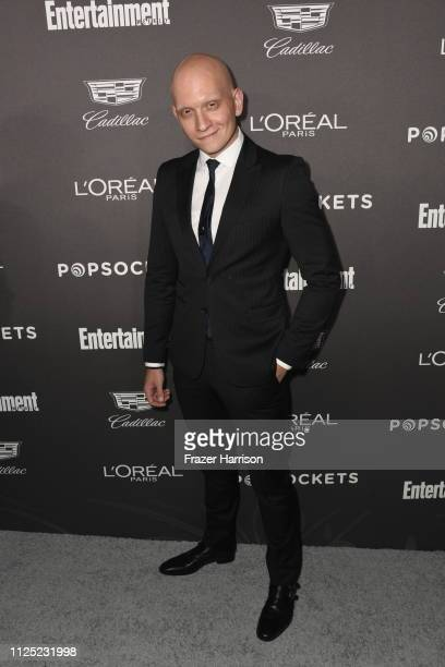 Anthony Carrigan attends the Entertainment Weekly PreSAG Party at Chateau Marmont on January 26 2019 in Los Angeles California