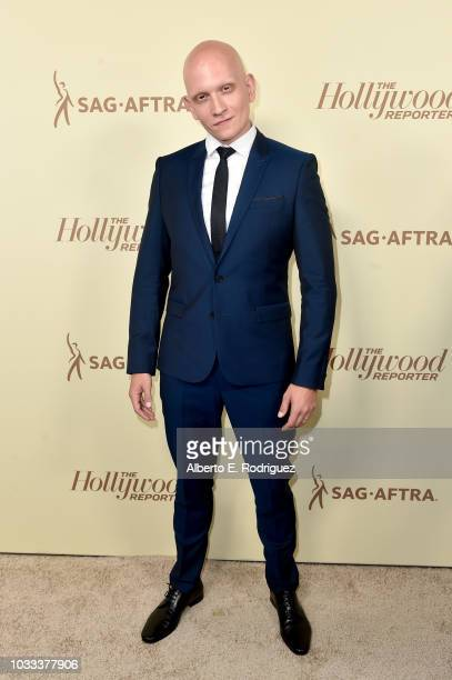 Anthony Carrigan attends The Hollywood Reporter and SAGAFTRA Annual Nominees Night to celebrate Emmy Award contenders at Avra Beverly Hills...