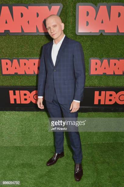 Anthony Carrigan attends the premiere of HBO's 'Barry' at NeueHouse Los Angeles on March 21 2018 in Hollywood California