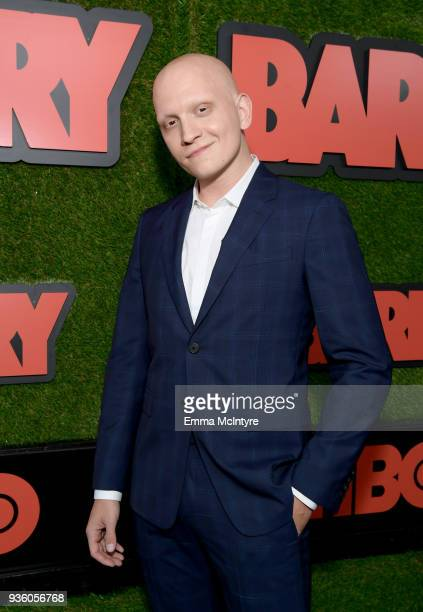 Anthony Carrigan attends the premiere of HBO's 'Barry' at NeueHouse Hollywood on March 21 2018 in Los Angeles California