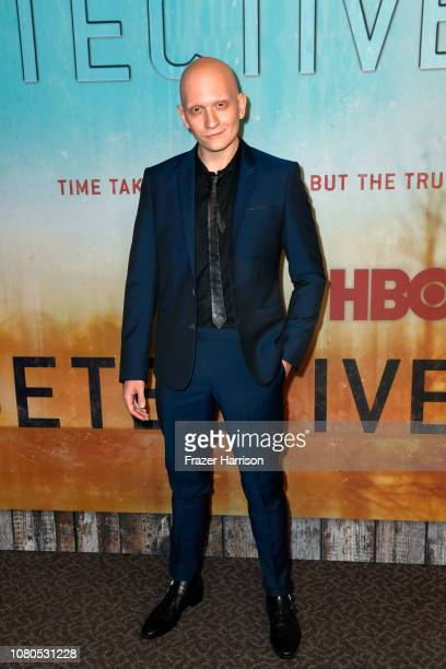 Anthony Carrigan attends the premiere of HBO's 'True Detective' Season 3 at Directors Guild Of America on January 10 2019 in Los Angeles California