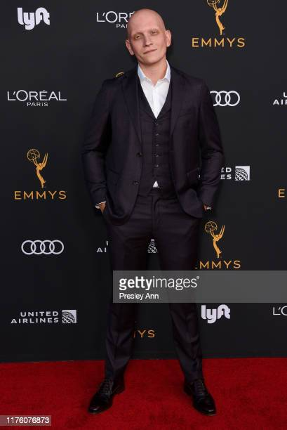 Anthony Carrigan attends the Television Academy honors Emmy nominated performers at Wallis Annenberg Center for the Performing Arts on September 20...